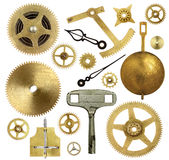 Old Clock Parts Royalty Free Stock Photos