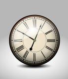 Old Clock. Retro Old Clock illustration background Royalty Free Stock Image
