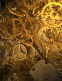 Old clock's parts - V Royalty Free Stock Photography