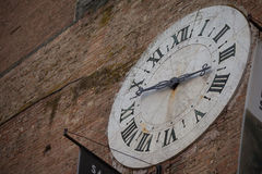 Old Clock in Siena, Italy Stock Photo