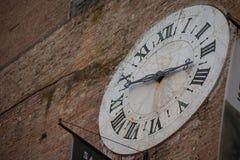 Old Clock in Siena, Italy Stock Photo