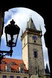 Old clock towe Stock Photos
