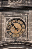 Old clock on tower Stock Image