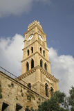 Old clock tower akko Royalty Free Stock Photo