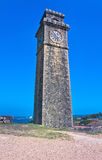 Old Clock Tower At Galle Dutch Fort, Sri lanka Royalty Free Stock Image