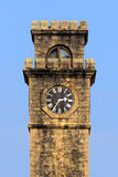 Old clock tower. In Galle Fort Sri Lanka Stock Image