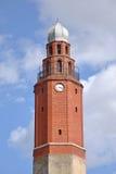 Old clock tower in City of Skopje Stock Image