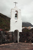 Old clock tower in Tenerife Stock Photo