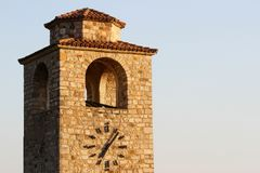 Old clock tower Royalty Free Stock Photography
