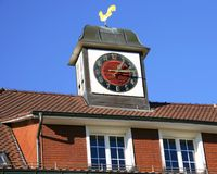 Old Clock Turret 2 Stock Photo