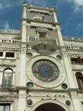 Old clock in venice Royalty Free Stock Photo
