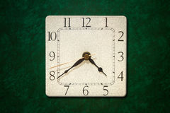 Old clock on the wall Royalty Free Stock Images