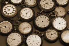 Old clocks Stock Image