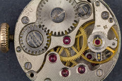 Old clockwork. Royalty Free Stock Photos