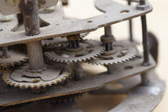 Old clockwork close up Royalty Free Stock Image