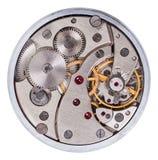 Old clockwork mechanism Stock Images
