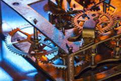 Old clockworks Stock Image