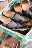 Old clogs Royalty Free Stock Image