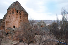 Old cloister in cappadokia royalty free stock image