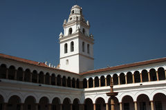 Old cloister in sucre Royalty Free Stock Photo