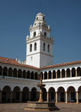Old cloister in sucre Royalty Free Stock Images