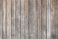 Old close boarded fence Stock Photo