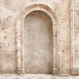 Old Closed Arch way Stock Photo