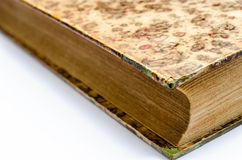 Old closed book Royalty Free Stock Photo