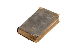 Old closed book top view Royalty Free Stock Image