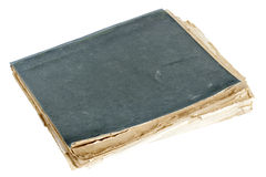 Old closed copybook Royalty Free Stock Image