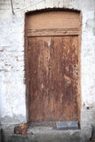 Old closed door Royalty Free Stock Images