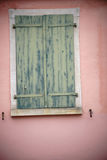 Old closed shutter Royalty Free Stock Images