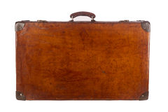 Old closed suitcase Royalty Free Stock Photo