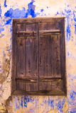 An old closed window Royalty Free Stock Image
