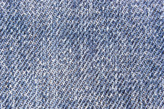 Old cloth blue jeans Royalty Free Stock Photos