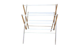 Old clothes airer Royalty Free Stock Photos