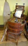 Old clothes washing machine royalty free stock image