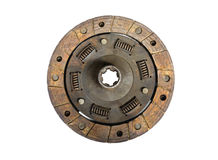 Old clutch disc Stock Image