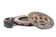 Old clutch kit Stock Photos