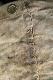 Old cnavas sack as a background. Closeup of an old canvas sack Royalty Free Stock Photos