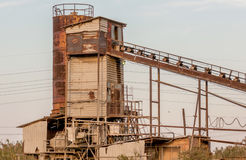 Old coal mine Royalty Free Stock Photo