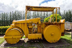 Old Coal Mine Machinery at maemo thailand royalty free stock image