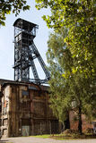 Old coal mine shaft Royalty Free Stock Photos