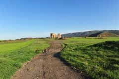 Old coal mines in Puertollano, Ciudad Real province, Spain Stock Images