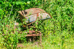 Old coal weighers. Royalty Free Stock Photos