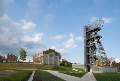Old coalmine in Katowice Stock Images
