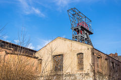 Old coalmine in Katowice Stock Photo