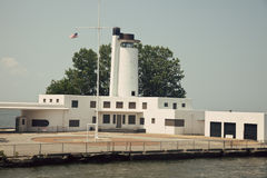 Old Coast Guard Station Stock Image