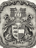 Old coat of arms Royalty Free Stock Photos