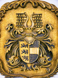 Old coat of arms Stock Image